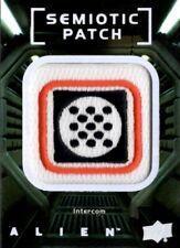 Alien Movie, Upper Deck, Semiotic Standards Patch Card SP18 Intercom