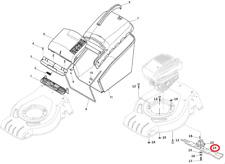 Mountfield S421 HP Petrol Lawnmower Cutting Blade 181004341/3 2015-2016