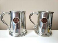 "Vintage SEARS 4 1/2"" Polished Silver MUG/TANKARD Centennial Token 1886-1986"