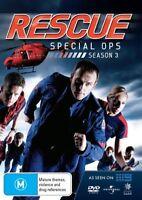 Rescue Special Ops Third Season/ Series 3 (DVD, 2011, 6 Disc Set) Aus Region 4