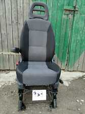 Seat Fiat Ducato Boxer Jumper Relay passenger seat armrest adjustments