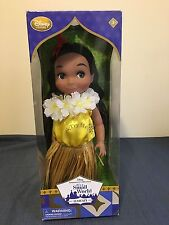 NEW DISNEY COLLECTION IT'S A SMALL WORLD SINGING HAWAII DOLL