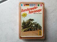Bundeswehr-Fahrzeuge -Quartett -  70 er Jahre- von FX Schmid- Nr. 52722 -gut