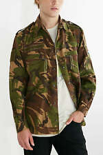 Dutch Army Jacket military coat camouflage camo DPM 1990s woodland zip front