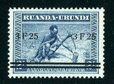 Ruanda-Urundi Scott #59 MNH SCHG 3.25fr on 3fr Indigenous Man $$