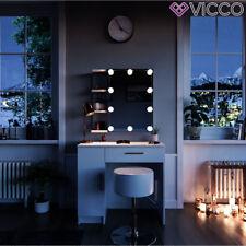 VICCO Schminktisch Fynnia Weiß Kosmetiktisch Frisierkommode Frisiertisch Spiegel