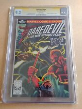 Daredevil #168 1st Appearance Elektra CGC 9.2 Signed By Stan Lee