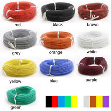 30awg-2awg Chose Colors UL Strand Silicone Soft Cable 600V 200℃ 0.08mm RC Wire