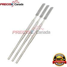 3 Pcs 24 Cement Spatulas Dental Instruments Stainless Steel