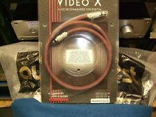 "AUDIOQUEST 1.0m. DIGITAL INTERCONNECT.""VIDEO X""  NEW/Old Stock."