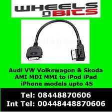 Audi A4 A5 A6 A7 A8 Q5 Q7 to AMI MDI MMI to iPod iPhone iPad Cable 4F0051510K
