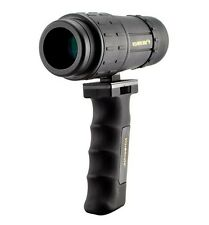 "Portable 7 X 32mm, 18"" Close Focus Monocular Bak4 with Accu-Grip Handheld Tripod"