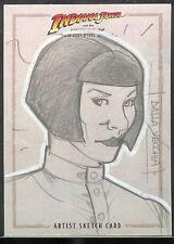 Indiana Jones Königreich Kristallschädel Sketch Vecchia v8