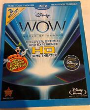 Disney WOW World of Wonder Optimize Home Theater HDTV (2 Blu-ray Set) w/ SLIP