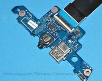 HP ENVY X360 m6-aq m6-aq105dx USB + Audio + Power Button Port Board w/ Cable