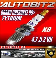 Pour JEEP GRAND CHEROKEE 4.7 V8 5,2 bougies BRISK X8 YYTRIUM rapide expédition