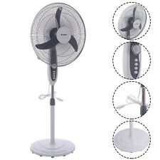 18Inch Adjustable 3-speed Manual Control Oscillating Standing Pedestal Fan US
