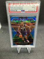 2019-20 Panini Select Zion Williamson Light Blue RC 290/299 Card #1 PSA 9