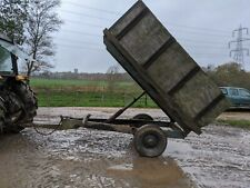 3 TON ISH FARM TIPPING TRAILER FOR EQUESTRIAN USE SMALL HOLDING FOR TRACTOR