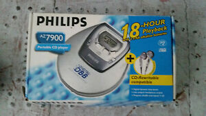Philips AZ 7900 Portable Personal CD Player - Boxed - Instructions
