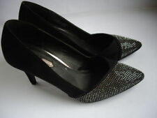 Dorothy Perkins Faux Suede Upper Court Shoes Heels for Women