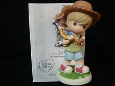cc Precious Moments-Disney-Young Deputy With  Woody From Toy Story