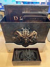 Diablo III 3 Edición Coleccionista-Excelente Estado (juego no incluido)