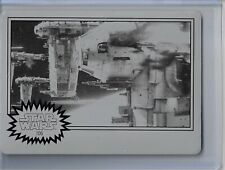 Star Wars Journey to the Last Jedi Black Printing Plate Card 106 1/1 SKC