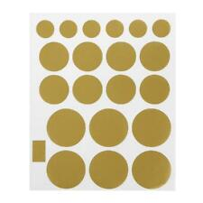 Gold Silver Polka Dot Mixed Size Wall Sticker Nursery Bedroom Decor Circle Decal