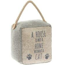 A House Is Not A Home Without A Cat  Door Stop LP43374