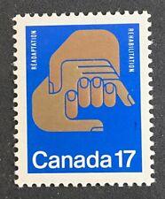 CANADA,  **NICE** 1980 Rehabilitation .  MNH