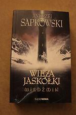 WIEDŹMIN. TOM 6 - WIEŻA JASKÓŁKI (okładka miękka) Sapkowski Andrzej