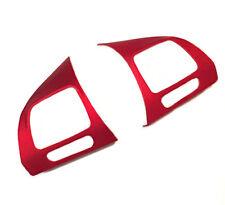 Lenkrad Blenden Abdeckung Set Matt Rot MFL für VW Golf 6 VI Passat 3C Touran GP2