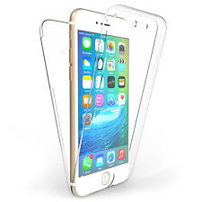 360° Front and Back Clear Full protection Gel Skin Case Cover For iPhone 6 PLUS