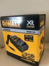 DEWALT DCB119-XJ - 10.8-18v XR In van Multi Voltage Battery Charger- BNIB
