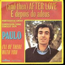 EUROVISION 1974 45 TOURS FRANCE PAULO IN ENGLISH