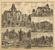 MINNESOTA STATE 1874 ATLAS 184 old maps lithographs GENEALOGY land ownership A42