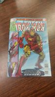 Captain America 695 Variant Iron Man holographic color