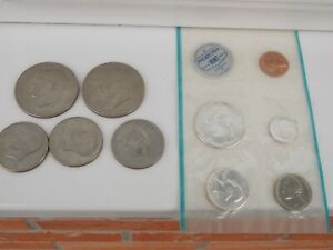 Silver Group Of Dollars