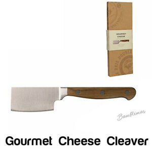 """Creative Tops Gourmet Cheese Cleaver Knife with Wooden Handle 20 cm (8"""") New"""