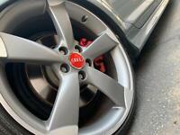 Audi Nabendeckel 4B0601170 Rot 69mm Alufelgen Kappen ! SOMMERAKTION !