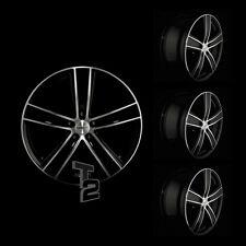 4x 16 Zoll Alufelgen für VW T5 / Dezent TH dark 7x16 ET45 (B-4600256)