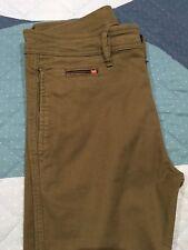 DIESEL Jeans Uomo pantaloni Trousers verde W29