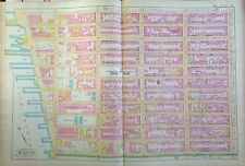 1891 E. ROBINSON GREENWICH VILLAGE MURRAY HILL MANHATTAN NY ATLAS MAP W14th-25th
