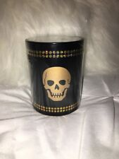 LIGHT HEADED Glass Candle with Skull Design (Macy's Gift)