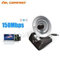 High Power 150Mbps Long Range USB WiFi Wireless Adapter Radar High Gain Antenna