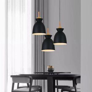 Bar Lamp Kitchen Pendant Lighting Shop Ceiling Lights Black Chandelier Lighting