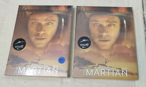 The Martian 3D+2D Blu-Ray Full Slip Kimchidvd Exclusive Stellbook