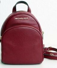 Michael Kors - Abbey Extra Small Mulberry Leather Backpack Brand NEW Monogram