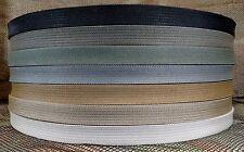 Military Nylon Webbing 3/4 Inch Mil Spec-Tan-Coyote-Ranger Green-Black-Per Yard